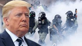 Trump to take a major shot at China over Hong Kong
