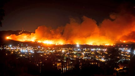 All evacuations lifted for Southern California wildfire