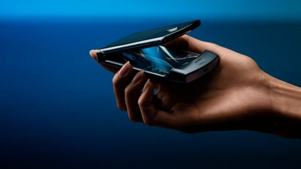Motorola flips for its futuristic foldable phone