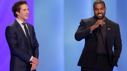 Kanye West tells Osteen's church he is serving God, not money now
