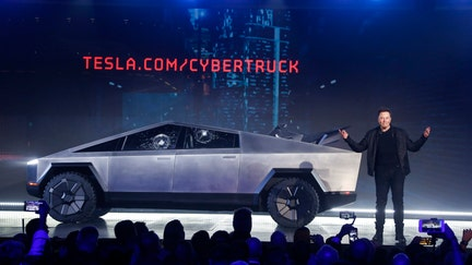 PICTURES: Elon Musk unveil's Tesla's futuristic new Cybertruck pickup