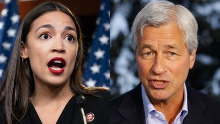 AOC joins in on criticism of Jamie Dimon: 'Billionaires are asking for a safe space'