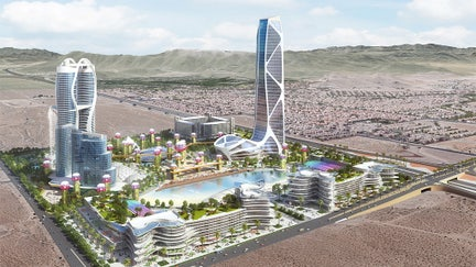 A $7.5B Las Vegas 'mini-city' could redefine Sin City skyline