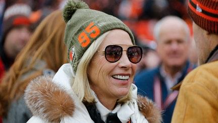 Cleveland Browns' Dee Haslam shows support for Myles Garrett as star serves indefinite suspension
