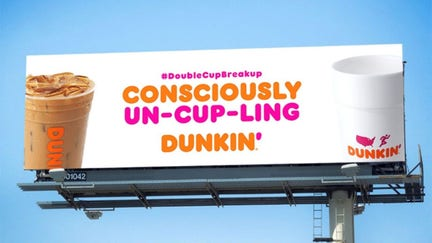 Customers blast Dunkin' for dropping foam cups: 'Changing the best part of my day'