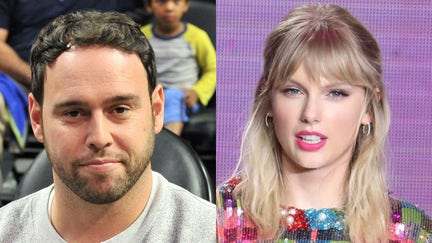 Taylor Swift slams Scooter Braun, her 'toxic' record exec rival, in Billboard award speech