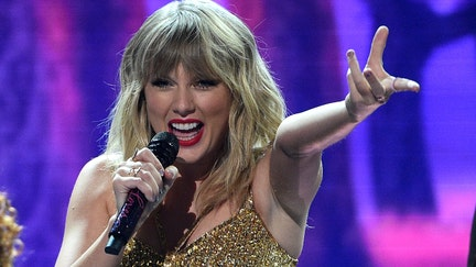 Taylor Swift's AMAs speech hits back at former record label
