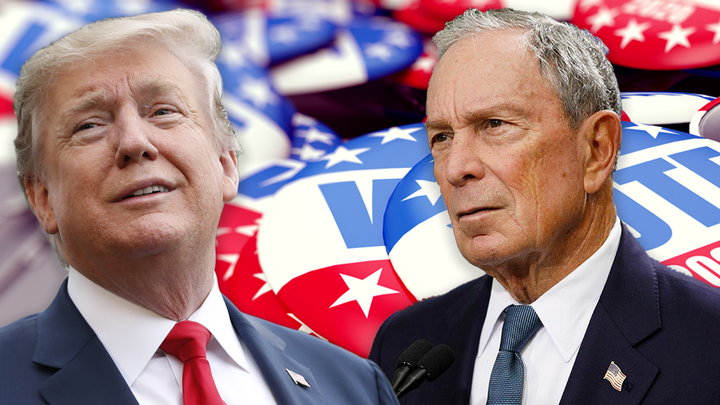 How Wall Street may react if Bloomberg faces Trump in 2020