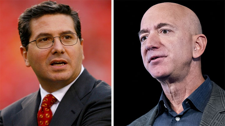 NFL team responds to report Jeff Bezos interested in buying franchise