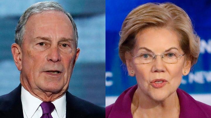 Bloomberg skewers Warren, slams other Democratic rivals
