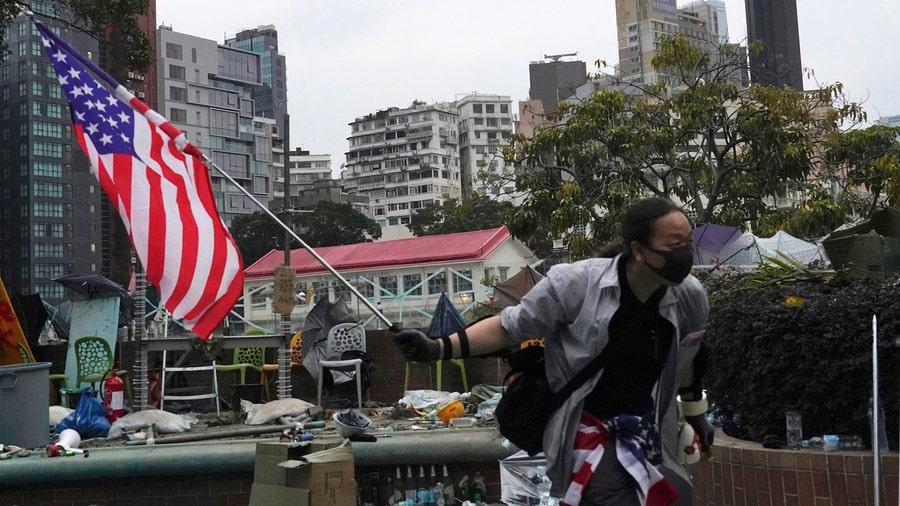 China vows retaliation after Hong Kong bill backing protesters passes in US Senate