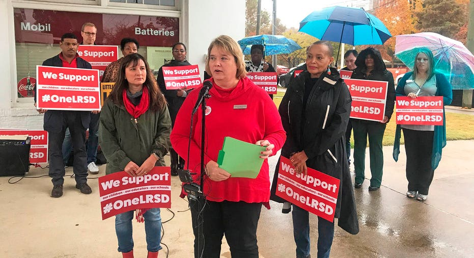 Image result for Little Rock teachers to go on strike over district's control