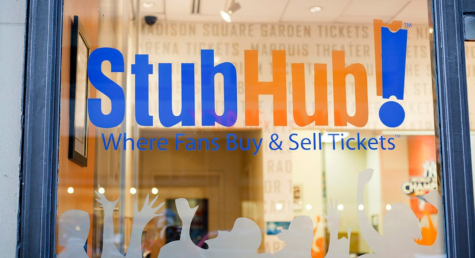 Books eBay's $4B StubHub Deal