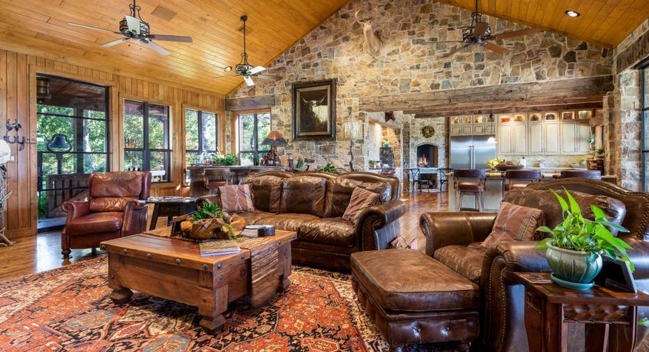 Terry dshaw selling his 144-acre Oklahoma ranch. Take a ... on country house plans ranch, small house plans ranch, sunset house plans ranch, cottage house plans ranch,