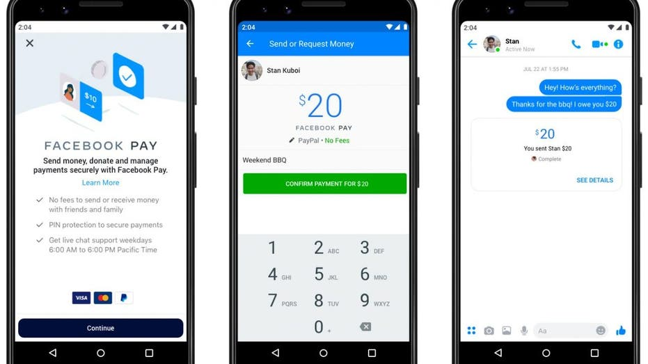 Facebook Launches Digital Payment Service