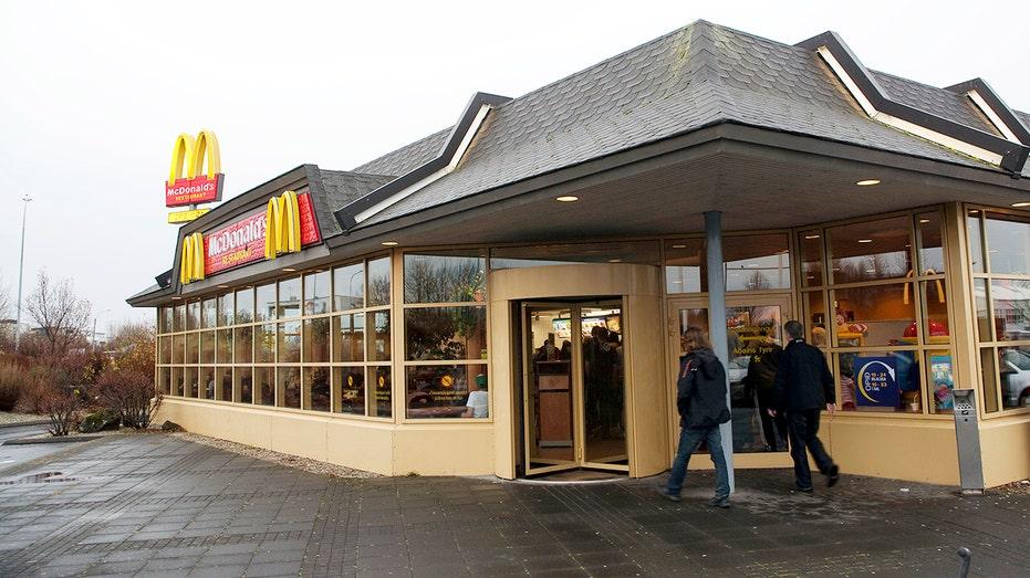 Icelandic Hostel Displays Mcdonald S Burger And Fries Sold