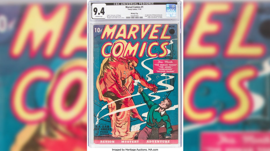 From 10¢ to $1.3mn, first Marvel comic sets record