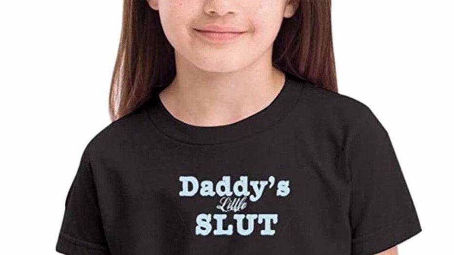 Amazon Vendor Behind Daddy S Little Slut Kids Shirts Under Fire