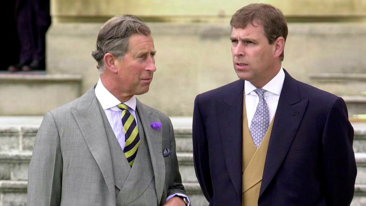 prince andrew young photos
