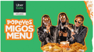 Popeyes drafts Migos as the latest celebrities to fight the fast-food wars