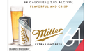 Miller64 joins Dry January with a beer-drinking twist