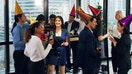 Wall Street holiday parties drop booze for bootcamps, smoothies