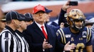 Trump may give football fans some face time at New Orleans college championship