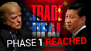 US and China agree to phase one trade deal, December Chinese tariffs canceled