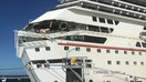 Carnival cruise ships collide at Cozumel, 6 people injured