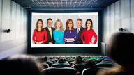 Fox Business anchors and reporters go to the movies for New Year's