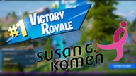 'Fortnite,' Susan G. Komen team up to fight breast cancer