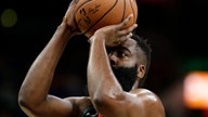Houston Rockets' James Harden has dunk disallowed vs. San Antonio Spurs, sparking controversy