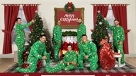 Tiger Woods, TaylorMade golfers get festive in company Christmas card