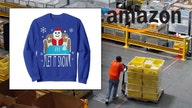 Amazon's bestseller list features Cocaine Santa sweater