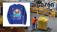 Amazon's bestseller list features Cocaine Santa sweater