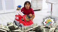 YouTube's highest-earners list of 2019 include 8 year oldat top