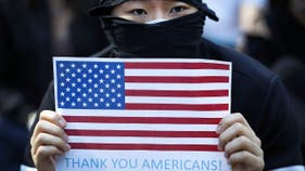 China retaliates against US Navy after Trump signs human rights bill