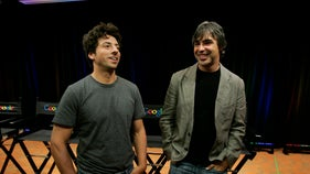 Google co-founders step down just as feds eye company's practices
