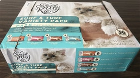 Company warning pet owners to throw out product