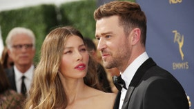 Justin Timberlake co-star spotted in LA during Jessica Biel's visit