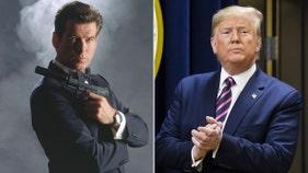 James Bond praises Trump's economy
