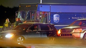 UPS driver, 3 others killed after chase with stolen truck ends in shootout