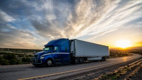 Trucking giant blames gloomier outlook on overcrowded market