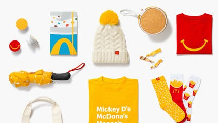 McDonald's opens Golden Arches Unlimited store with fry socks, Happy Meal shirts