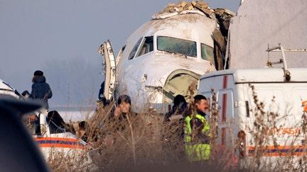 Plane crash in Kazakhstan kills at least 12, dozens more hurt