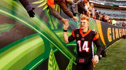 Dalton, Bengals get 1st win, as Jets fool fans again