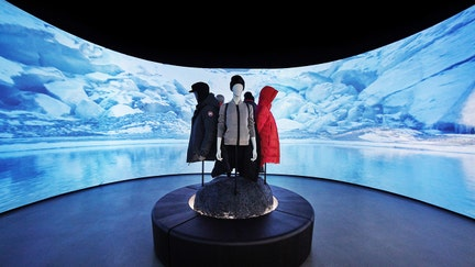 Canada Goose opens new store, sends shoppers into snow-filled Arctic chamber