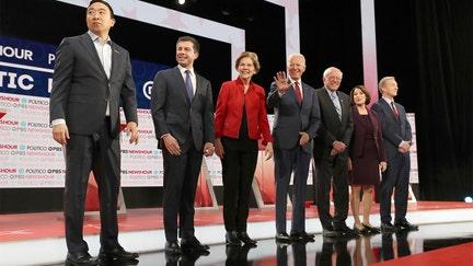 USMCA divides 2020 Democrats on debate stage in Los Angeles