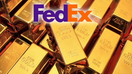 Former FedEx hub worker charged with stealing gold bars