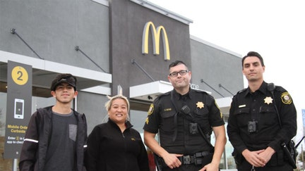 McDonald's employees save woman who mouths 'help me' at drive-thru